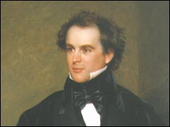 Portrait of Nathaniel Hawthorne by Charles Osgood, 1840