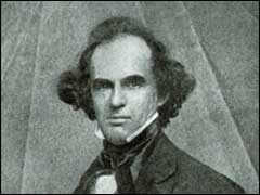 Photograph of Nathaniel Hawthorne from a daguerreotype,1848(?)