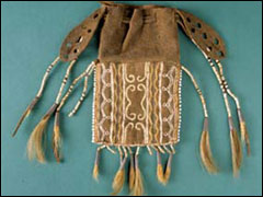 Pouch with Tassels