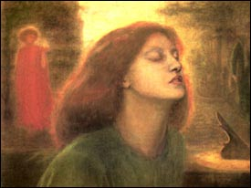 <I>Beata Beatrix</I> by D.G. Rossetti