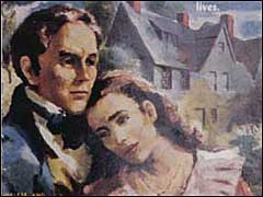 Holgrave and Phoebe on Pocket Version of <I><The House of the Seven Gables </I>