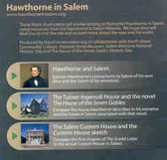 Front cover of the Hawthorne in Salem DVD