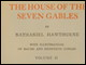Title page of volume 2 of <i>The House of the Seven Gables</i> illustrated by Edith and Mildred Cowles (Houghton Mifflin, 1899)