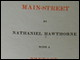 Title page of <i>Main Street</i> with introduction by Julian Hawthorne (1901)